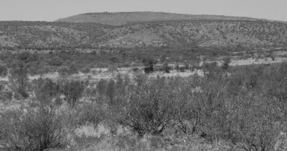 dry country in the outback of Australia
