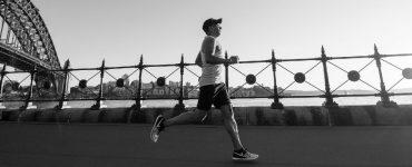 runner on Sydney Harbour bridge