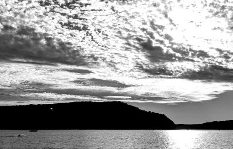clouds over Pittwater, Sydney